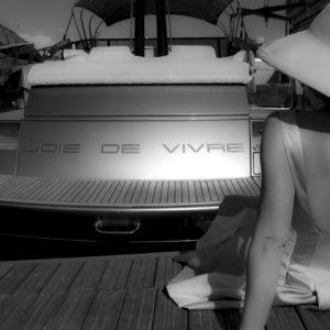 La Riviera Veronique Thomazo Photography French Photographer Nice France French Riviera serie de photos en noir et blanc