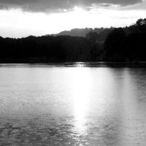 Austria Sissi lake Klagenfurt serie de photos en noir et blanc black and white photography Veronique Thomazo French photographer Nice France